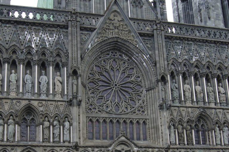 Trondheim cattedrale.