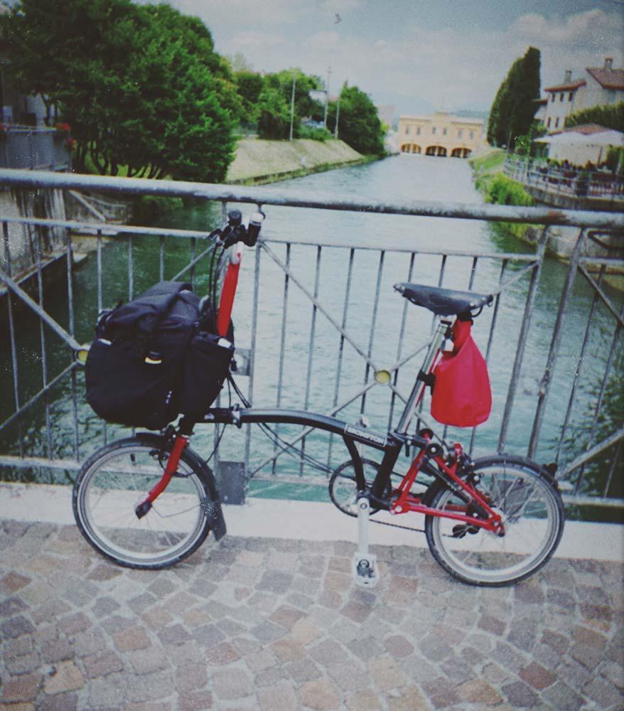 The München-Venezia cycle route